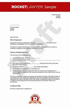 Skills To Offer An Employer Offer Of Employment Letter Create A Job Offer Letter Online