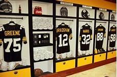 Steelers Bedroom Ideas Pittsburgh Steelers 1970 S Locker Room Mural By Tom