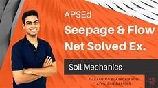 Flow Net Flow Net And Seepage Analysis Gate Problems Soil