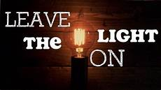 Leave The Light On Comic Max Scheer Leave The Light On Lyric Video Youtube