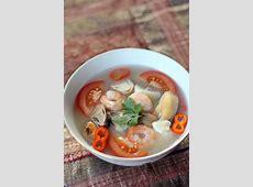 Thai Seafood Soup (Tom Yum Talay)   Recipe   Soup recipes