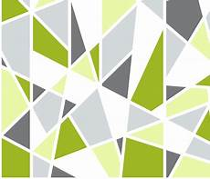 Lime Green Design Geometric Pattern In Lime Green Yellow And Gray Wallpaper