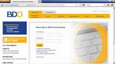 banco on line bdo s banking enrollment katechpunan