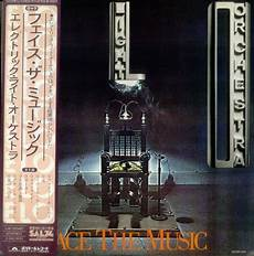 Electric Light Orchestra Face The Music Album Cover Electric Light Orchestra Face The Music Japanese Promo