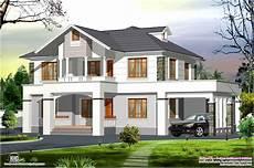 Western Homes Floor Plans 2400 Sq Western Style Home In Kerala Kerala Home