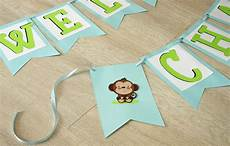 Baby Shower Banner How To Make A Simple Baby Shower Banner Create And Babble