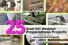 25 great diy weekend preparedness projects