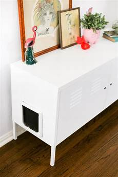 litter box cabinet hack