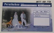 undangan pernikahan desain lop facebook unik ratu