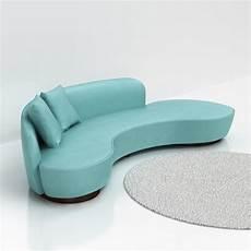 Curved Arm Sofa 3d Image by 3d Vladimir Kagan Freeform Curved Sofa