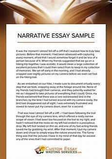 Examples Of A Personal Narrative Essay Narrative Essay Writing Ireland