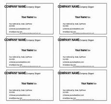 Business Card Template Word Free Download 11 Microsoft Word Free Blank Templates Download Free