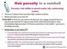 Hair Porosity Chart Hair Porosity Test Natrurul Hairrrrrrrr Pinterest