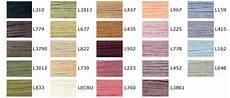 Dmc Rayon Floss Color Chart Dmc Linen Floss Color Chart List Of Colors