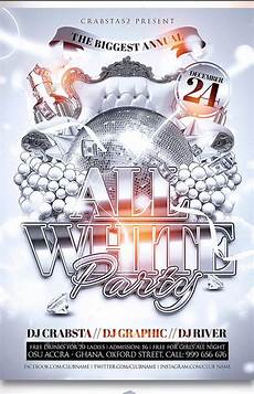 Free All White Party Flyer Template 53 White Party Flyer Templates Free Psd Vector Png Pdf