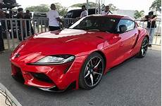 2019 toyota supra news 2019 toyota supra revealed at clark here s we