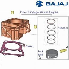 Light Cylinder Pulsar Bajaj Pulsar 200ns Piston Amp Cylinder Block