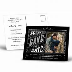 Save The Date Postcard Pretty Please Save The Date Postcard S Bridal Bargains
