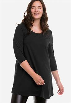 knit tops for 3 4 sleeve 3 4 sleeve knit tunic by ellos 174 plus size tops ellos