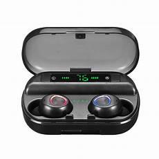 Digital Display Bluetooth Wireless Earbuds Cvc8 by Tws Wireless Bluetooth 5 0 Earphone Led Digital Display