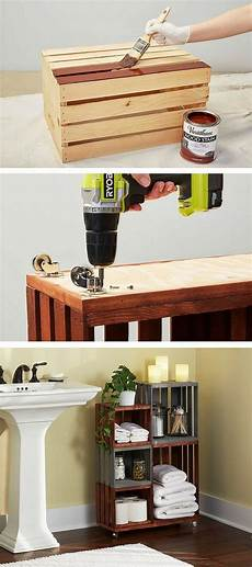 diy projects muebles 35 diy wood crate projects with lots of tutorials noted list