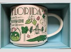 Starbucks 2018 Been There Series Florida 14 ounce
