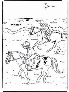 Pferde Ausmalbilder Reiten Reiten 2 Ausmalbilder Pferde