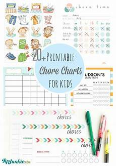 Free Printable Charts For Toddlers 20 Chore Charts For Kids Printables Tip Junkie