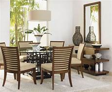 glass dining room sets club 54 quot south seas glass dining room set from