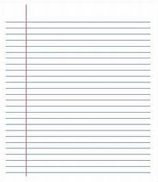 College Ruled Paper Template College Ruled Paper Template 6 Free Pdf Documents