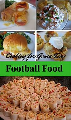 the best appetizers and entrees for football or