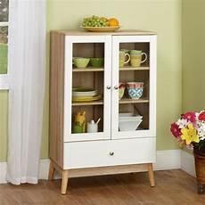 white china cabinet wood kitchen cupboard glass
