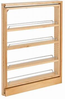 pull out thin between cabinet filler organizer shelves