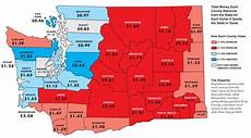 King County Sales Tax Chart Washington Tax Policy A People S Perspective The Great
