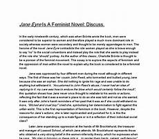 Eyre Essay Eyre Is A Feminist Novel Discuss A Level English