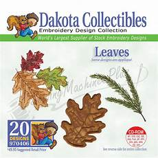 Dakota Embroidery Design Collection Dakota Collectibles Leaves Embroidery Designs 970406