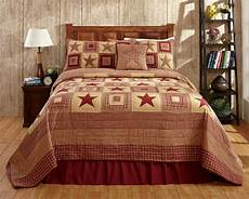 4pc colonial burgundy luxury king bed quilt set by