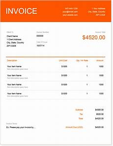 How To Prepare An Invoice For Payment Invoice Template Create And Send Free Invoices Instantly