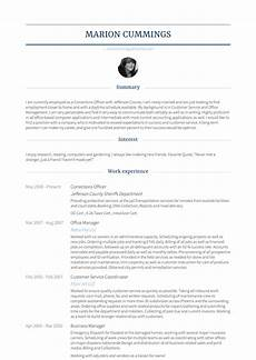 Correctional Officer Resume Resume For Corrections Officer