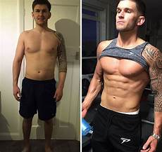 before and after fitness transformations show who