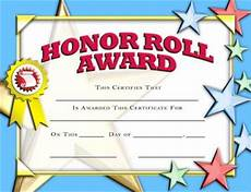 Honor Roll Certificate Templates Crown Certificates Honor Roll Award Certificate