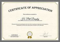 Example Of Certificate Of Appreciation For Guest Speaker Certificate Template For Appreciation