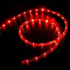 Led Rope Christmas Lights 150 Red Led Rope Light Home Outdoor Christmas Lighting