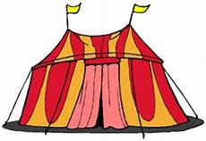 malvorlagen zirkus zirkuszelt