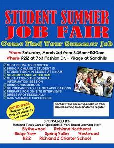 Summer Employment Viking Update Student Summer Job Fair