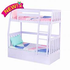bunks lilac doll bunk bed furniture set