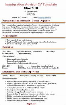 Immigration Consultant Resume Immigration Advisor Cv