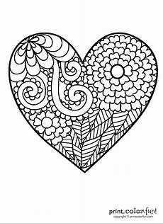 Malvorlagen Herzen Kostenlos Ausdrucken Big Coloring Pages At Getcolorings Free