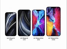 Apple Event: Prices for the new iPhone 12, 12 Mini, 12 Pro