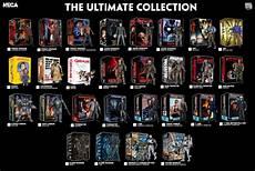 Video Game Checklist New Neca Ultimate Figures 2017 Visual Guide The Toyark